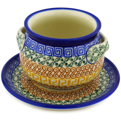 Bouillon Cup with Saucer
