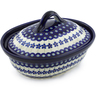 10-inch Stoneware Baker with Cover - Polmedia Polish Pottery H0305A