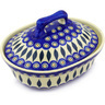 10-inch Stoneware Baker with Cover - Polmedia Polish Pottery H4895F