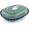 10-inch Stoneware Baker with Cover - Polmedia Polish Pottery H5124H