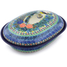 10-inch Stoneware Baker with Cover - Polmedia Polish Pottery H5473I