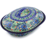 10-inch Stoneware Baker with Cover - Polmedia Polish Pottery H7525I