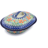 10-inch Stoneware Baker with Cover - Polmedia Polish Pottery H7526I