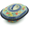 10-inch Stoneware Baker with Cover - Polmedia Polish Pottery H7527I
