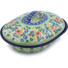 10-inch Stoneware Baker with Cover - Polmedia Polish Pottery H7528I