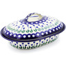 10-inch Stoneware Baker with Cover - Polmedia Polish Pottery H8114B