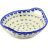 10-inch Stoneware Bowl with Handles - Polmedia Polish Pottery H0937F