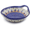 10-inch Stoneware Bowl with Handles - Polmedia Polish Pottery H8831E