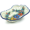 10-inch Stoneware Bowl with Holes - Polmedia Polish Pottery H7762C