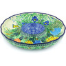 10-inch Stoneware Chip and Dip Platter - Polmedia Polish Pottery H4979G