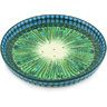 10-inch Stoneware Cookie Platter - Polmedia Polish Pottery H4828G
