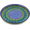 10-inch Stoneware Cookie Platter - Polmedia Polish Pottery H5111G
