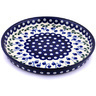 10-inch Stoneware Cookie Platter - Polmedia Polish Pottery H5123G