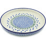 10-inch Stoneware Cookie Platter - Polmedia Polish Pottery H5942H