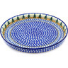 10-inch Stoneware Cookie Platter - Polmedia Polish Pottery H6656D