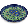 10-inch Stoneware Cookie Platter - Polmedia Polish Pottery H7673C