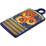 10-inch Stoneware Cutting Board - Polmedia Polish Pottery H3851K