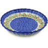 10-inch Stoneware Fluted Pie Dish - Polmedia Polish Pottery H0564H