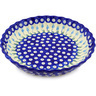 10-inch Stoneware Fluted Pie Dish - Polmedia Polish Pottery H0851F