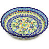 10-inch Stoneware Fluted Pie Dish - Polmedia Polish Pottery H9077F