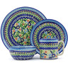10-inch Stoneware Place Setting - Polmedia Polish Pottery H3951H