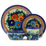 10-inch Stoneware Place Setting - Polmedia Polish Pottery H5874F