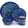 10-inch Stoneware Place Setting - Polmedia Polish Pottery H5884F