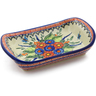 10-inch Stoneware Platter with Handles - Polmedia Polish Pottery H0878K
