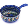 10-inch Stoneware Round Baker with Handles - Polmedia Polish Pottery H0759G