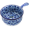 10-inch Stoneware Round Baker with Handles - Polmedia Polish Pottery H2083J