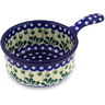 10-inch Stoneware Round Baker with Handles - Polmedia Polish Pottery H2205F