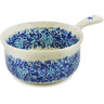 10-inch Stoneware Round Baker with Handles - Polmedia Polish Pottery H8493J