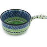 10-inch Stoneware Round Baker with Handles - Polmedia Polish Pottery H8834G