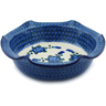 10-inch Stoneware Scalloped Bowl - Polmedia Polish Pottery H1678I