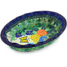 10-inch Stoneware Serving Bowl - Polmedia Polish Pottery H4484G