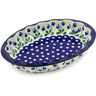 10-inch Stoneware Serving Bowl - Polmedia Polish Pottery H5042G