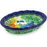 10-inch Stoneware Serving Bowl - Polmedia Polish Pottery H5519G