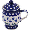 10 oz Stoneware Brewing Mug - Polmedia Polish Pottery H5779G