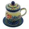 10 oz Stoneware Brewing Mug - Polmedia Polish Pottery H6926H