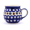 10 oz Stoneware Bubble Mug - Polmedia Polish Pottery H0382H