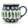 10 oz Stoneware Bubble Mug - Polmedia Polish Pottery H1394H
