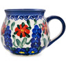 10 oz Stoneware Bubble Mug - Polmedia Polish Pottery H4708K