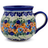 10 oz Stoneware Bubble Mug - Polmedia Polish Pottery H7204J