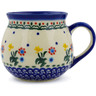10 oz Stoneware Bubble Mug - Polmedia Polish Pottery H7206J