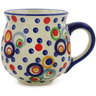 10 oz Stoneware Bubble Mug - Polmedia Polish Pottery H9488J