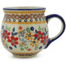 10 oz Stoneware Bubble Mug - Polmedia Polish Pottery H9637J
