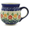 10 oz Stoneware Bubble Mug - Polmedia Polish Pottery H9665J