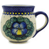 10 oz Stoneware Bubble Mug - Polmedia Polish Pottery H9695J