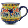 10 oz Stoneware Bubble Mug - Polmedia Polish Pottery H9964J