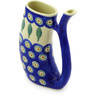 10 oz Stoneware Mug with Straw - Polmedia Polish Pottery H7084E